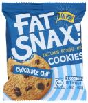 Fat Snax: Chocolate Chip Cookies, 1.40 Oz
