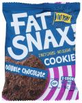 Fat Snax: Double Chocolate Chip Cookies, 1.40 Oz