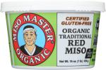 Miso Master: Organic Traditional Red Miso, 16 Oz
