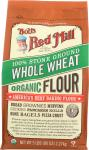 Bob's Red Mill: 100% Stone Ground Whole Wheat Organic Flour, 5 Lb