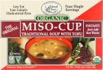 Edward & Sons: Organic Gluten Free Miso-cup Natural / Instant 4 Pack, 1.3 Oz