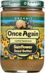 Once Again: Organic Sunflower Seed Butter, 16 Oz