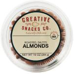 Creative Snack: Roasted Salted Almonds Cup, 10 Oz